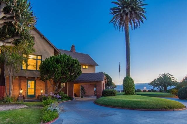 519 Ocean Blvd Coronado Home For Sale Driveway