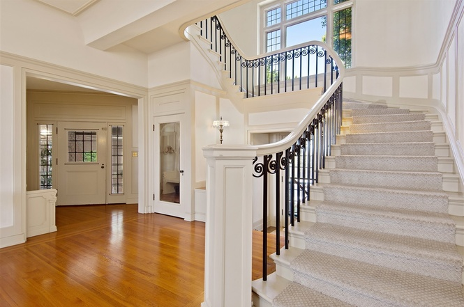 519 Ocean Blvd Coronado Home For Sale Stairs
