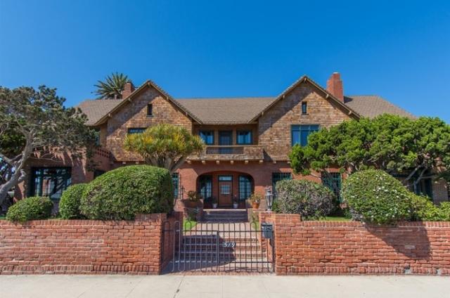 519 Ocean Blvd Coronado Home For Sale Front Door